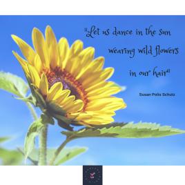 Let us dance in the sun