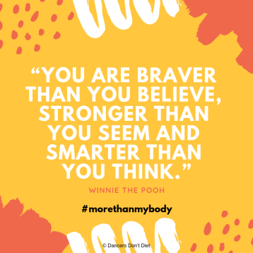 LYBW 2018 - You are braver than you believe, stronger than you seem and smarter than you think