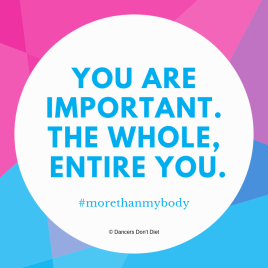 LYBW 2018 - you are important. the whole, entire you