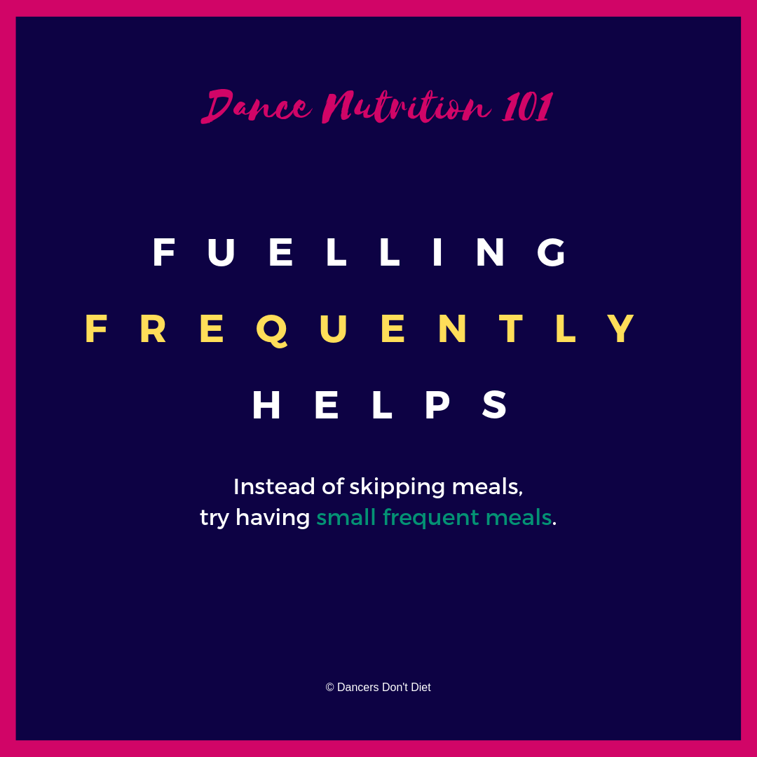 DDD - DN101 - Fuelling frequently helps