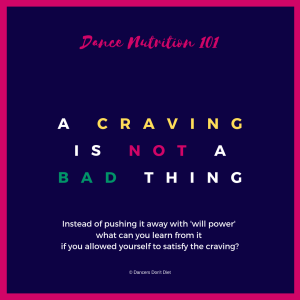 dn101 - a craving is not a bad thing